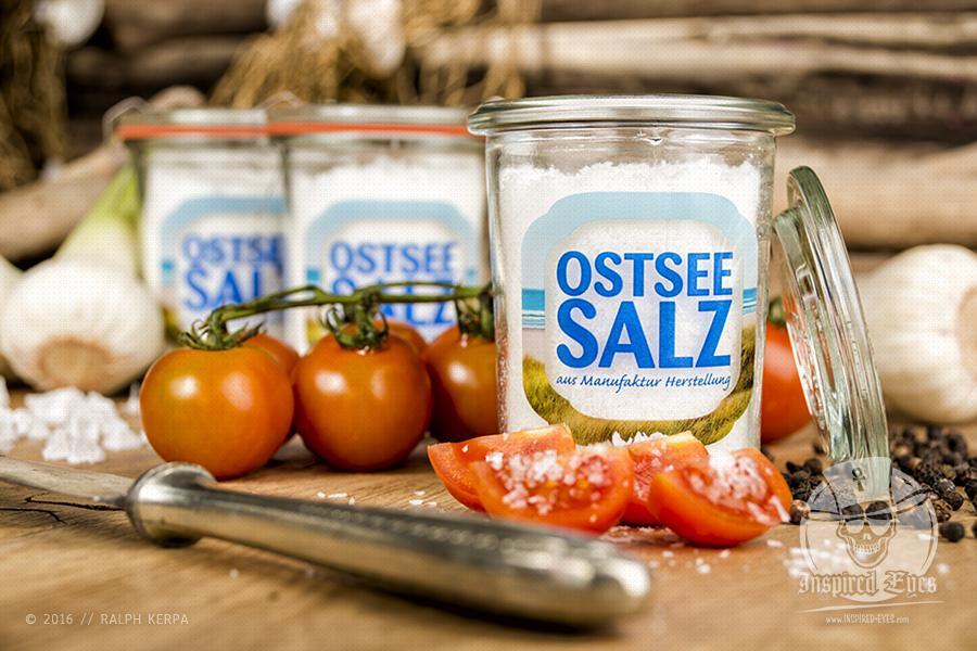 Ein regionales und handgearbeitetes Meersalz ohne Zusatzstoffe produziert von der Ostseesalzmanufaktur.