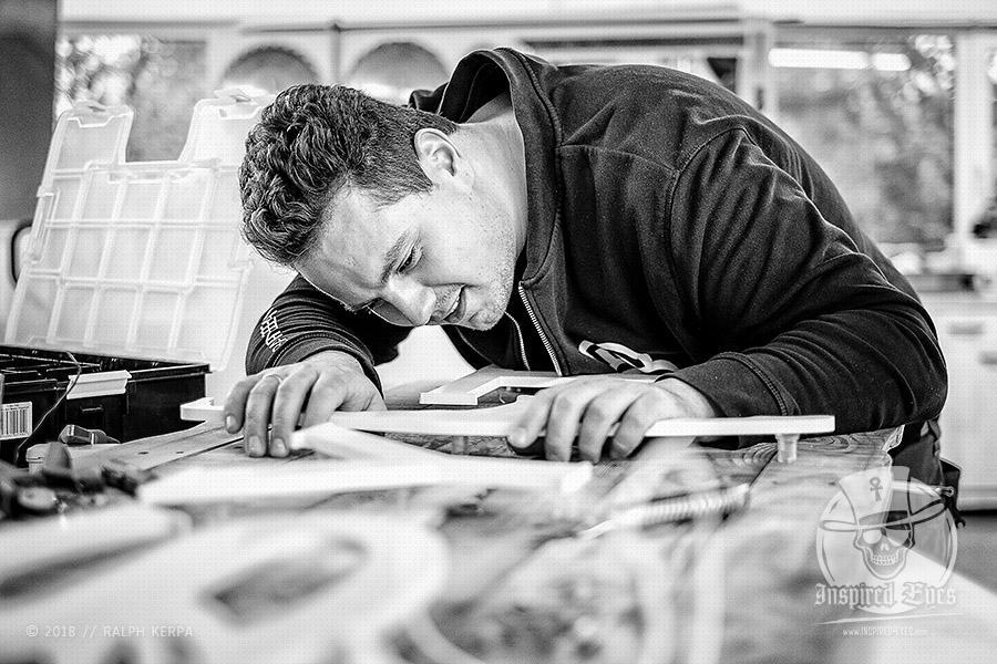 """Reportage für das freie Projekt """"Gesichter Nordfrieslands"""" bei dem Unternehmen BARNE BEAM in Viöl // Ralph Kerpa"""