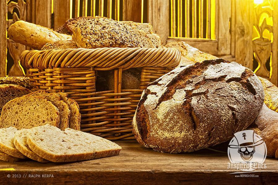 Verschiedene Brotsorten auf einem Tisch // Foto: Ralph Kerpa