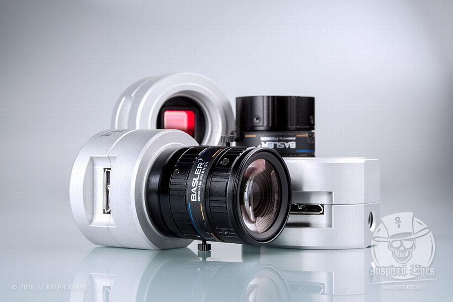 Produktaufnahmen: pulse, Basler Lens