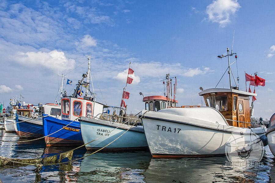 Fischkutter im Fischereihafen von Travemünde // Ralph Kerpa