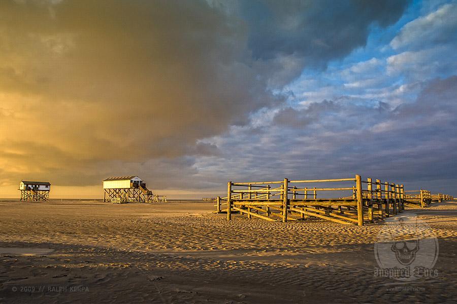 Strandlandschaft an der Nordsee im Frühjahr // Foto: Ralph Kerpa